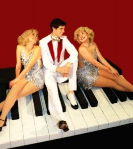 """Some guys have all the luck: Ian Brown-Gorrell in """"White Christmas"""""""