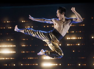 Cole Horibe as Bruce Lee (Photos: Joan Marcus)