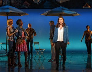 "Idina Menzel and ""If/Then"" cast members (Photo: Joan Marcus)"