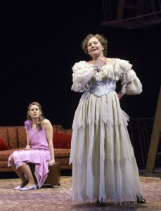 """Cherry Jones as Amanda (and Celia Keenan-Bolger as Laura) in """"The Glass Menagerie"""