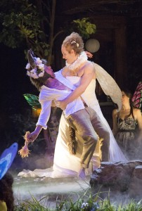 Stephen Ouimette, left, as Bottom and Evan Buliung as Titania (Photo: Erin Samuell)