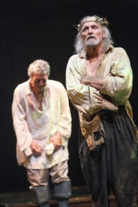 Scott Wentworth, left, as Gloucester and Colm Feore as King Lear (Photo: David Hou)