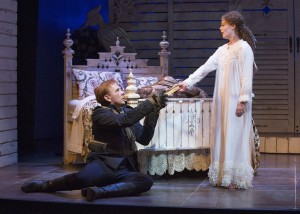 "Graeme Somerville and Kate Besworth in ""Arms and the Man"""