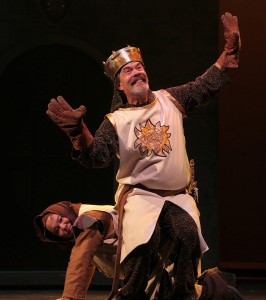 Overburdened Patsy (Casey Okamoto) and King Arthur (MichaelChartier)
