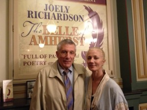 That's me with the lovely and gracious Joely Richardson