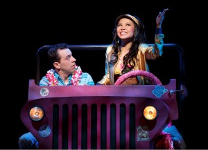 "Hard to resist a ""Friki-Friki"" (Rob McClure and Catherine Ricafort)"