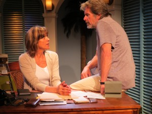 "Wendie Malick and Gary Cole in ""Closure"" at New Jersey Rep (Pics: SuzAnne Barabas)"