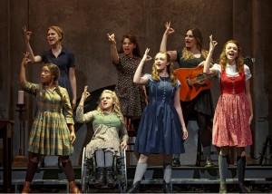 "The schoolgirls of ""Spring Awakening"""