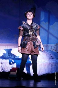 Jennifer Townsend as Peter Pan (Photos: Rich Kowalski)