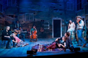 """The """"Songbird"""" cast"""