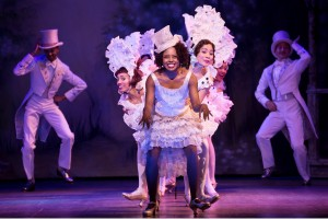 "Adrienne Warren and members of the ""Shuffle Along"" company"