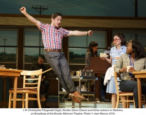 "Christopher Fitzgerald in ""Waitress"""