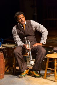 "Brandon J. Dirden in ""Ma Rainey's Black Bottom"" (Those shoes also play an important role.)"