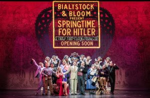 "The cast of ""Springtime for Hitler"": The musical-within-the-musical ""The Producers"""